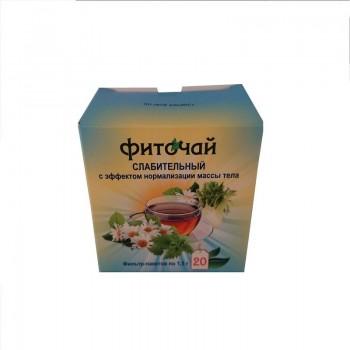Фито-чай слабительный с эффектом нормализации веса